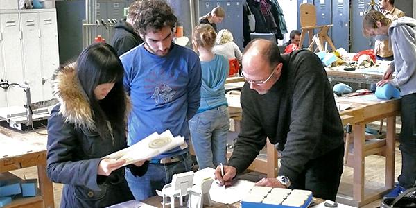 Bankraum, Modellbau, Korrektur, integriertes Produktdesign, Hochschule Coburg