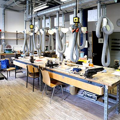 Kunststoffwerkstatt, Kunststoff, Werkstatt, Modellbau, integriertes Produktdesign, Hochschule Coburg