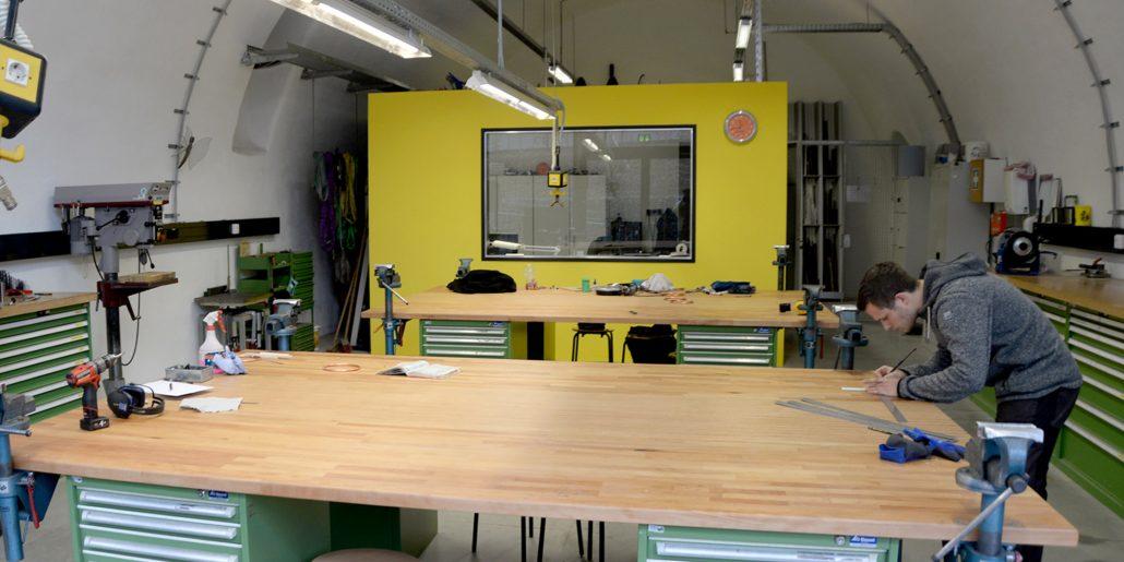 Metallwerkstatt, Hochschule Coburg, integriertes Produktdesign, Design Campus