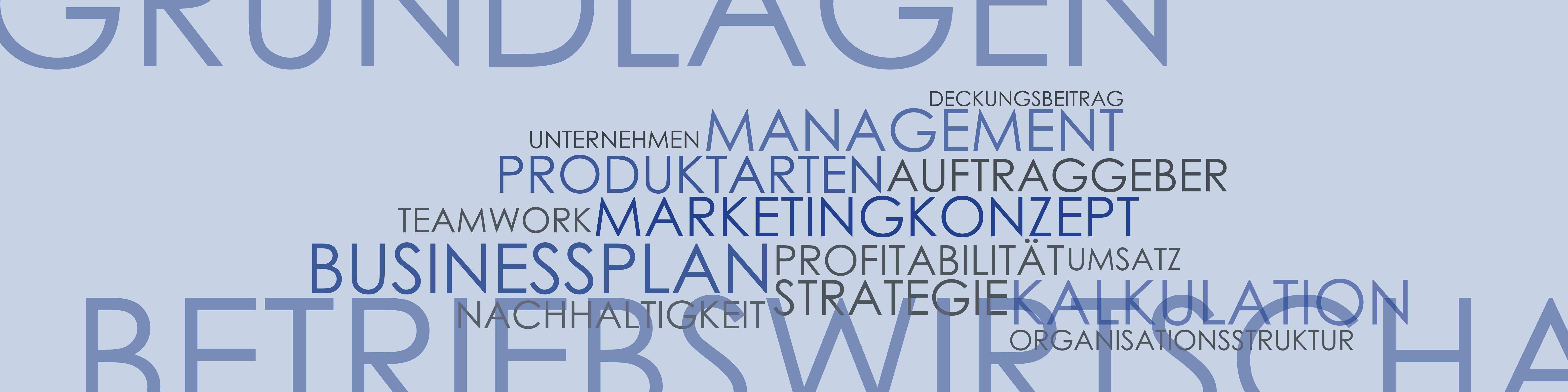 Integriertes Produktdesign, Lerhrinhalte, Betriebswirtschaftslehre