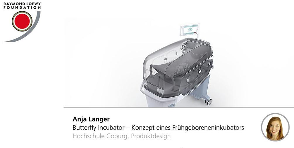 Anja Langer, Butterfly Incubator, Lucky Strike Design Award, integriertes Produktdesign, Hochschule Coburg