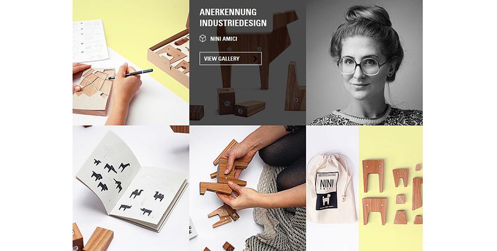 Nina Renth, Kinderspielzeug, Nini Amici, integriertes Produktdesign, Hochschule Coburg