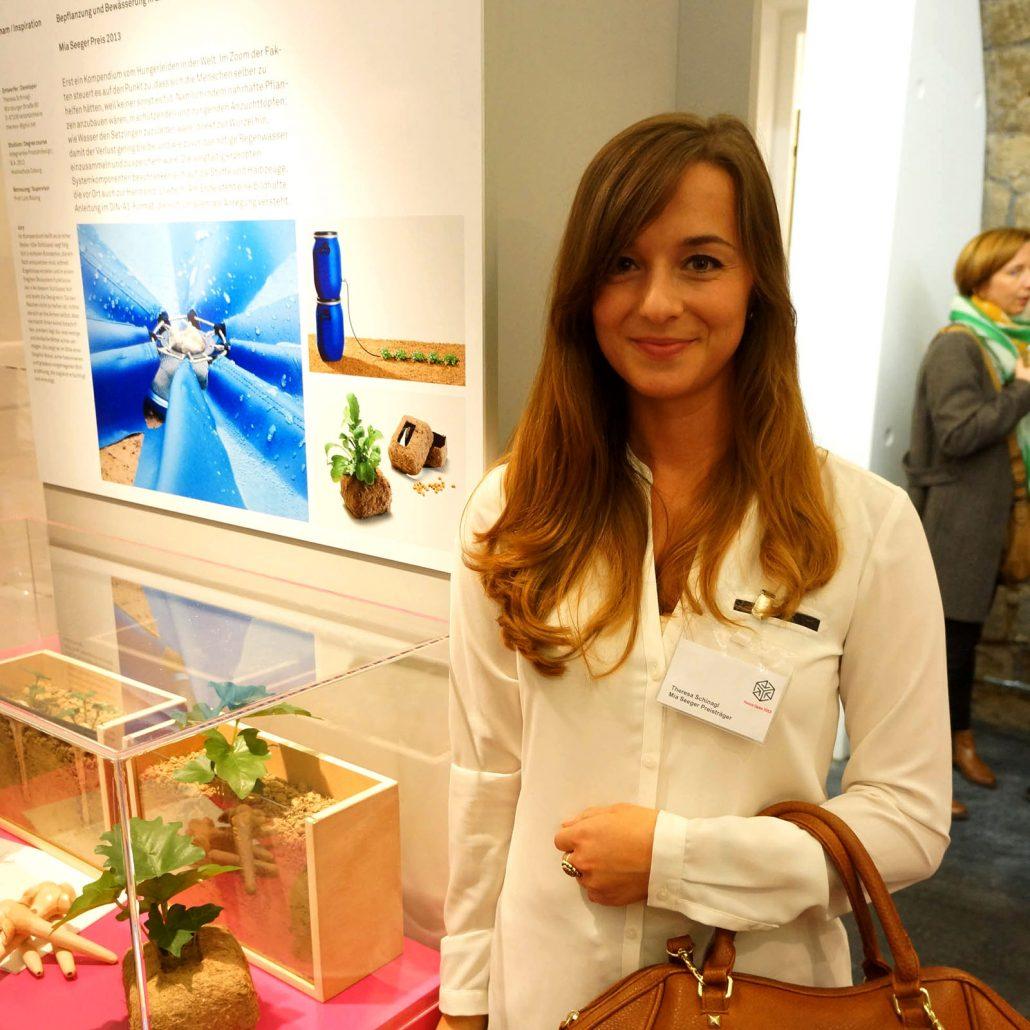 Mia Seeger Preis, Theresa Schinagl, integriertes Produktdesign, Hochschule Coburg