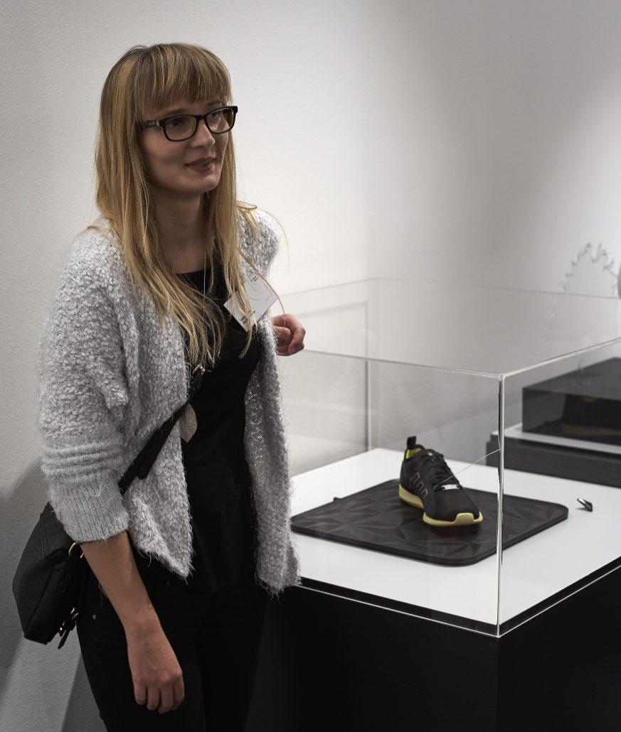 Mia Seeger Preis, Sabine Harrer, Shoes not only for the blind, integriertes Produktdesign, Hochschule Coburg, Bachelorarbeit