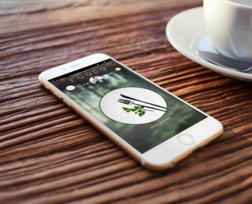 Bachelorarbeit, Integriertes Produktdesign, App, Foodo, Service Design, Ablauf, Restaurant, Self Service