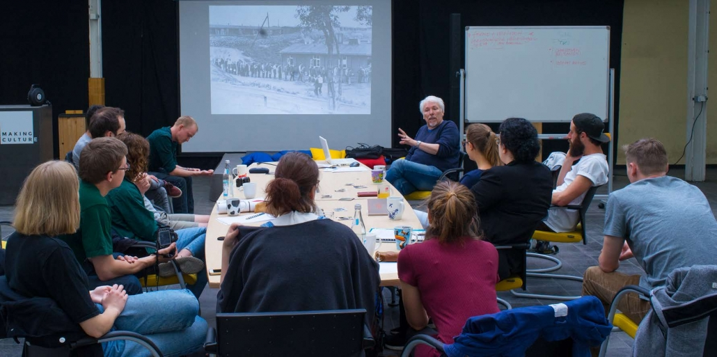 Projekt, Beyond Forgetting, Prof. Kampe, Sommersemester 2018, Social Design, Integriertes Produktdesign, Internationales Symposium