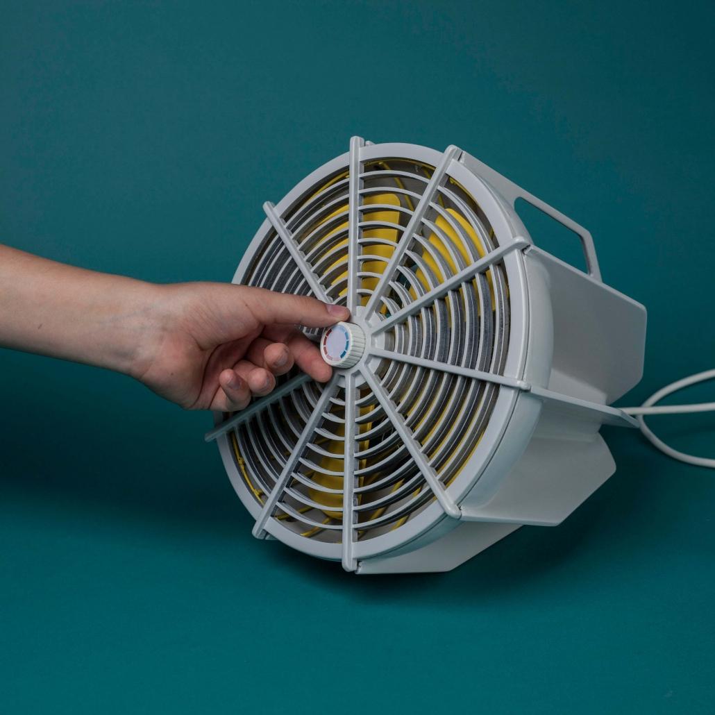 Benutzung des Heiz-Ventilators