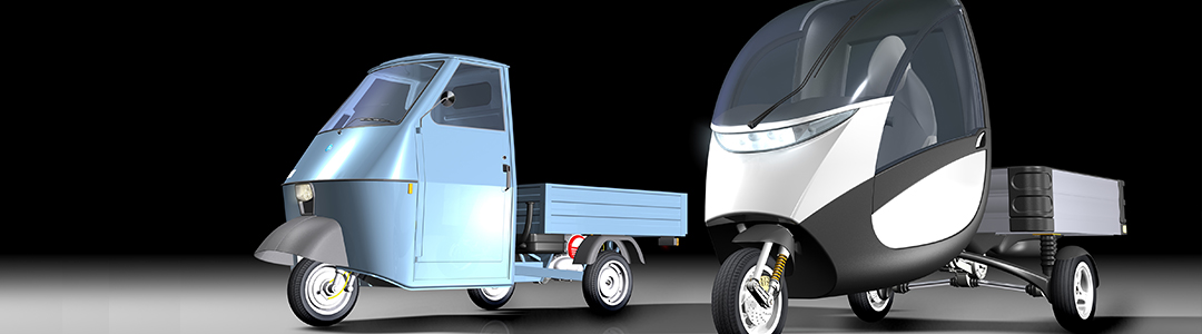 Re-Design eines Lastendreirads (Formica)